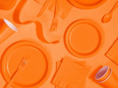 Orange kalastillbehör