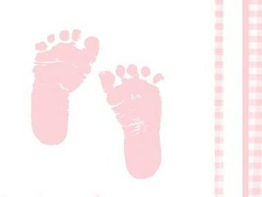 Baby Fötter Rosa