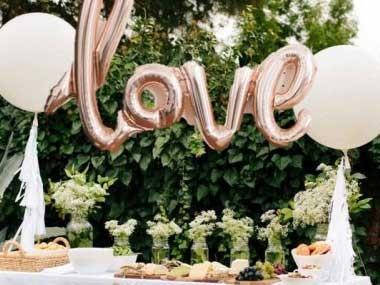 Fina Bröllopsballonger