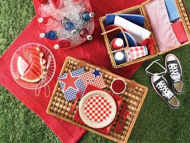 Picknickdukning
