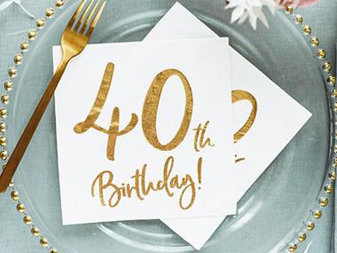 40 års party Köp Kalastillbehör till Vuxenkalas & Fest hos Partytajm 40 års party