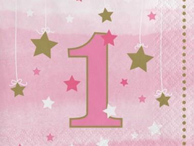 Pink Star 1 år