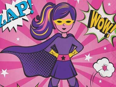 Superhjälte Tjejkalas