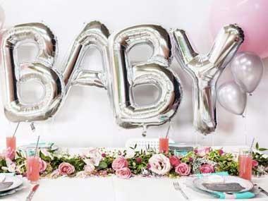 Folieballonger för Baby