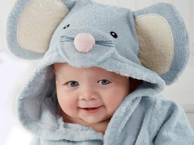 Morgonrock för baby
