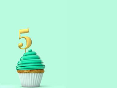 5 Årskalas